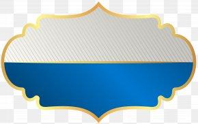 Label Template Blue Clip Art Image - Label Clip Art PNG