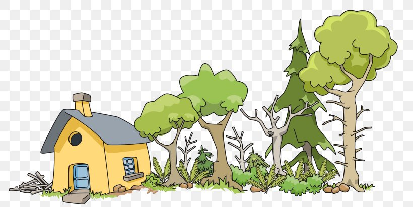 House Wood Log Cabin Royalty-free Clip Art, PNG, 800x411px, House, Cartoon, Cottage, Drawing, Flora Download Free