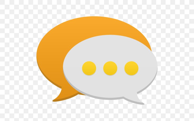 Yellow Orange Smile, PNG, 512x512px, Communication, Icon Design, Online Chat, Orange, Smile Download Free