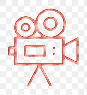 Logo Line Art - Miscellaneous Elements Icon Cinema Icon Video Camera Icon PNG