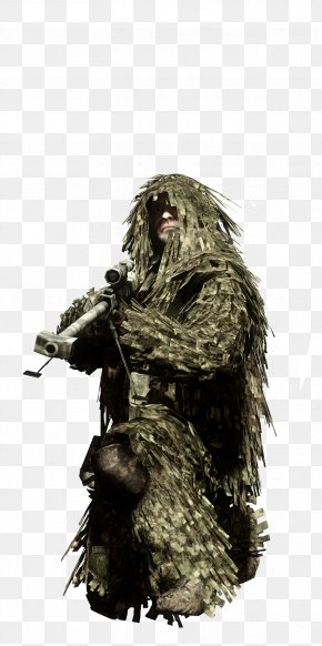 Battlefield: Bad Company - Battlefield: Bad Company 2 Battlefield 2 Battlefield 3 Ghillie Suits Camouflage PNG