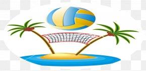 Volleyball - Beach Volleyball Document Clip Art PNG