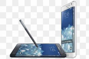 Samsung - Samsung Galaxy Note Edge Samsung Galaxy Note 4 Smartphone Android Lollipop PNG