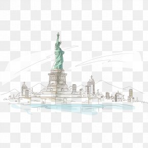 Statue Of Liberty Statue - Statue Of Liberty National Monument PNG