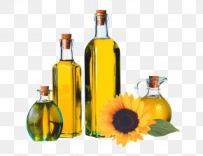 The Sunflower Oil In The Bottle - Cooking Oil Sunflower Oil Olive Oil PNG