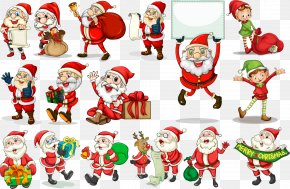 Cartoon Santa Claus - Santa Claus Can Stock Photo Clip Art PNG