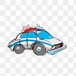 Police Light - Police Car Cartoon PNG