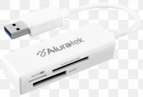 Card Reader - USB Flash Drive Memory Card Reader Flash Memory Secure Digital PNG