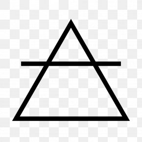 Triangle - Air Alchemical Symbol Water Classical Element PNG