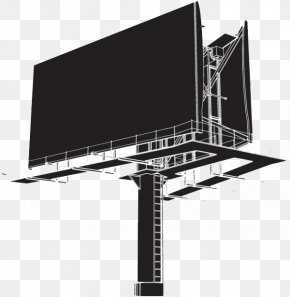 Outdoor Billboard - Billboard Clip Art PNG