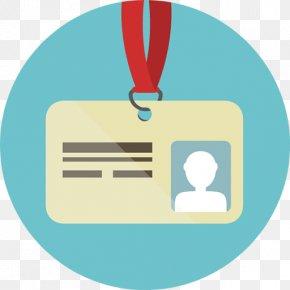 Enterprise Color Business Card - Identity Document Icon Design PNG