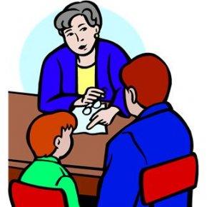 Teacher Communication Cliparts - Student Parent-teacher Conference School PNG