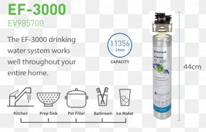 Water - Water Filter Everpure Drinking Water Filtration PNG