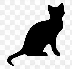 Cat Clip Art Cat Silhouette - Cat Clip Art Silhouette PNG