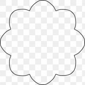 Newspaper Template - Circle Shape Clip Art PNG