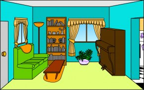 Television Cliparts Room - Living Room Drawing Interior Design Services Clip Art PNG