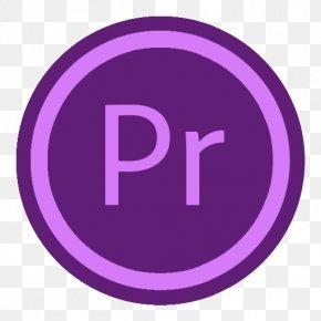App Adobe Premiere - Purple Trademark Symbol PNG