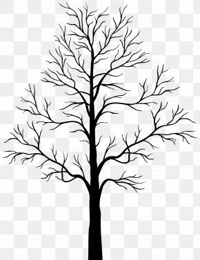 Dead Tree Silhouette Clip Art - Tree Silhouette Clip Art PNG