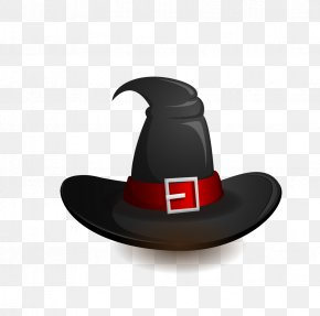 Hat - Halloween Witch Hat PNG