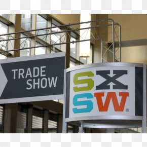 South By Southwest Trade Show Display Computer Banner PNG