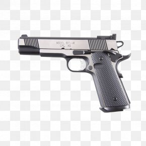 Gun Hole - M1911 Pistol Air Gun Firearm .45 ACP PNG