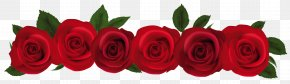 Red Roses Clipart - Rose Red Clip Art PNG