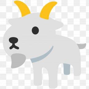 Goat - Emoji Goat IPhone Noto Fonts Clip Art PNG