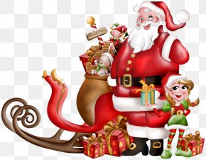 Santa Claus - Santa Claus's Reindeer Santa Claus's Reindeer Rovaniemi Christmas PNG