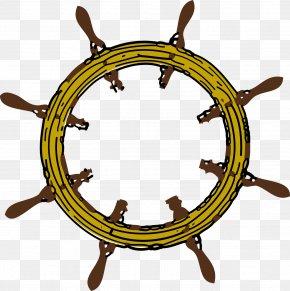 Steering Wheel - Clip Art: Transportation Ship's Wheel Clip Art PNG