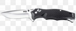 Knife - Knife SOG Specialty Knives & Tools, LLC VG-10 Blade Zytel PNG