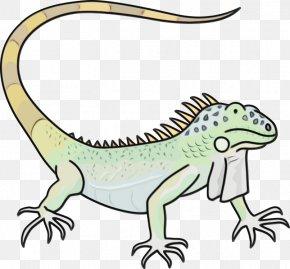 Dragon Lizard Terrestrial Animal - Reptile Lizard Animal Figure Scaled Reptile Clip Art PNG