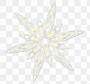 Snowflake Image - Symmetry White Body Piercing Jewellery Pattern PNG