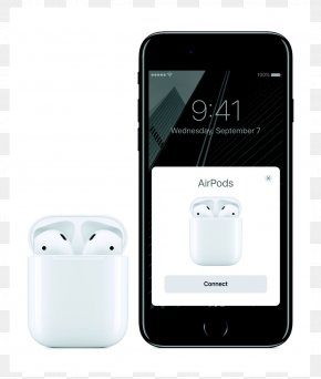 Headphones - AirPods Apple IPhone 7 Plus Headphones Bluetooth PNG
