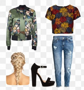 T Shirt And Jeans Clothing - T-shirt Blouse Clothing Chanel Jeans PNG