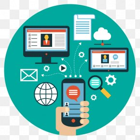 Phone Tablet Computer File Transfer - Social Media Communication Information Business Organization PNG