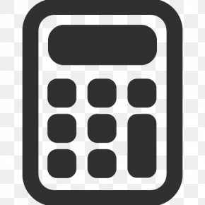 Caculator - Square Symbol Telephony Pattern PNG