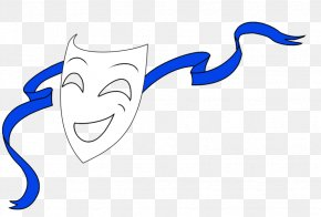 How To Draw Drama Masks - Drawing Mask Drama Theatre Clip Art PNG