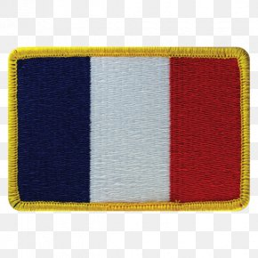 Flag Patch - Flag Patch Embroidered Patch Flag Of France National Flag PNG