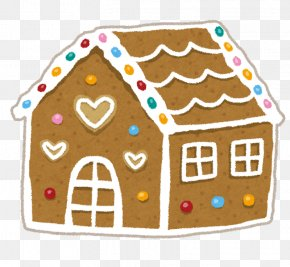 Gingerbread House - Gingerbread House Hansel And Gretel Clip Art Confectionery PNG