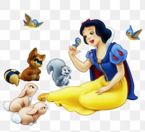 Snow White Transparent - Snow White Magic Mirror Seven Dwarfs Dopey Clip Art PNG