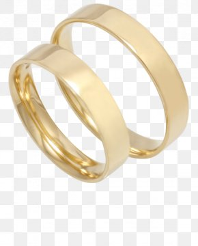 Wedding Ring - Wedding Ring Gold Silver Bangle PNG