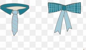 Collar Bow Tie - Necktie Bow Tie Collar Shoelace Knot PNG