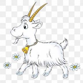 Hand-painted Goat - Pygmy Goat Boer Goat Three Billy Goats Gruff Sheep Clip Art PNG