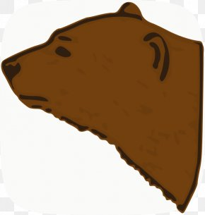Bear - Brown Bear American Black Bear Polar Bear Clip Art PNG