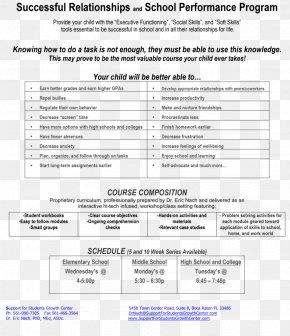Kids Summer Camp Flyer - Document Line PNG