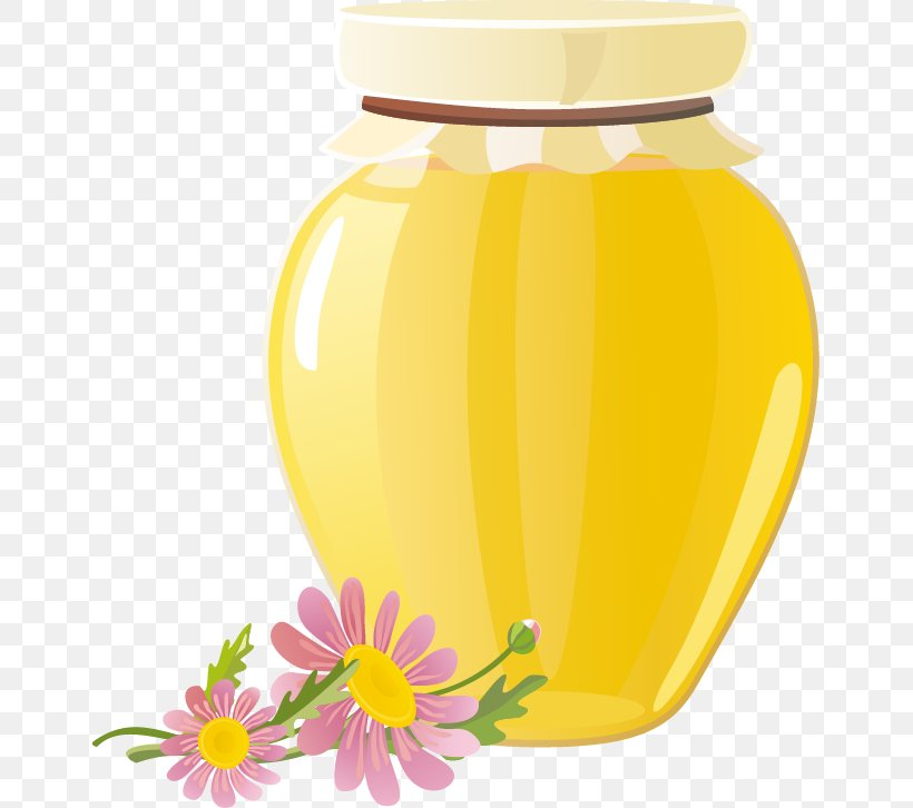 Honey Bee Honey Bee, PNG, 653x726px, Honey, Drawing, Flower, Fruit, Honeypot Download Free