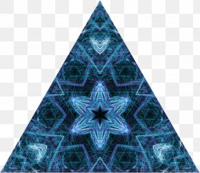 Christmas Tree - Christmas Tree Symmetry Pattern Triangle Christmas Day PNG