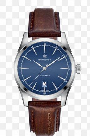 Watch - Hamilton Watch Company Lancaster Automatic Watch Watch Strap PNG