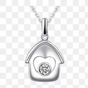 CNUTI Diamond Pendant - Locket Silver Body Piercing Jewellery Platinum PNG