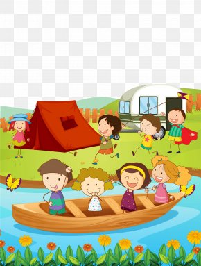 A Child Playing Outdoors - Camping Journal For Kids C Things (a Childrens Picture Book) S Things (a Childrens Picture Book) PNG